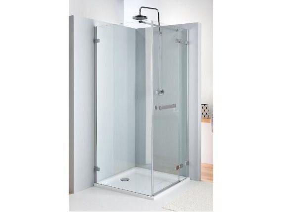 Drzwi prysznicowe NEXT skrzydłowe 80cm prawostronne z relingiem Reflex HDSF80222R03R Koło_DARMOWA DOSTAWA !!!