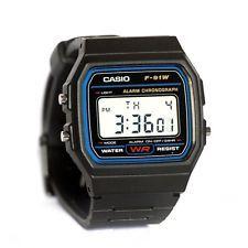 $9.99, Was $18.95, 47% Off! Casio F91W-1 Classic Men's Black Digital Resin Strap Watch
