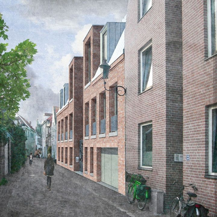 http://monadnock.nl/en/selected-projects/courtyard-houses