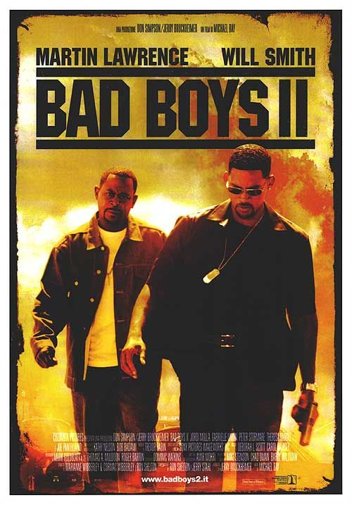 Bad Boys Movie Poster | Bad Boys II movie posters at movie poster warehouse movieposter.com