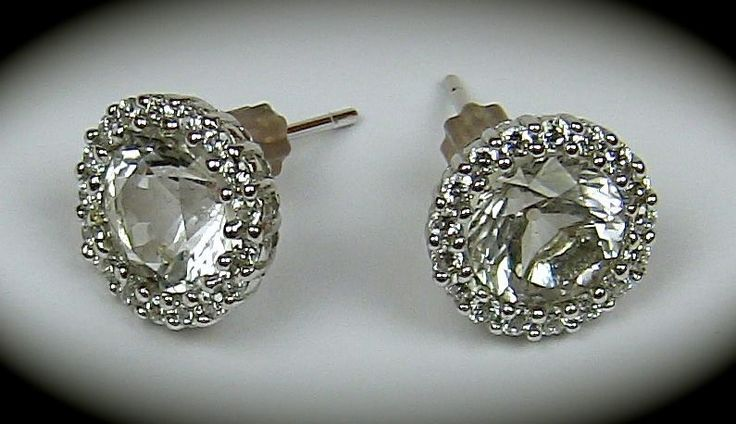 Herkimer Diamond Earrings. You will find a beautiful and extensive collection of Herkimer Diamonds at Casa Alhambra - Brisbane - Australia.