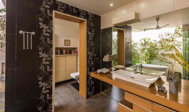 Bathroom Design; Farmhouse by architect kumar moorthy associates