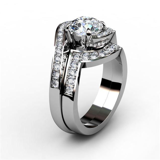 E Engagement Rings