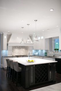 City Glam in the Country - contemporary - kitchen - vancouver - by Lyla Veinot Designs