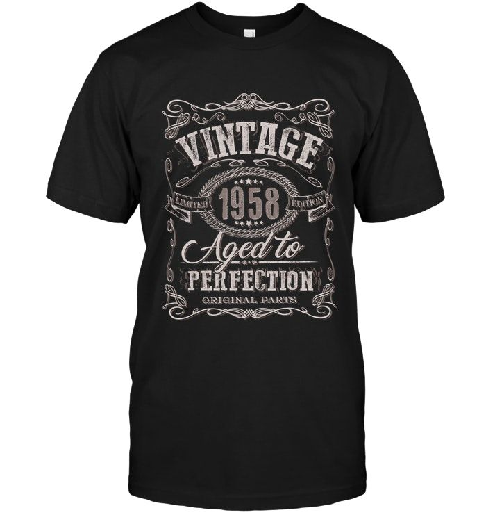 30th Birthday Present Gift Year 1990 Matured To Perfection Funny Retro T-Shirt