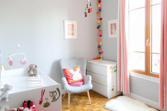 La chambre bébé de Lucile