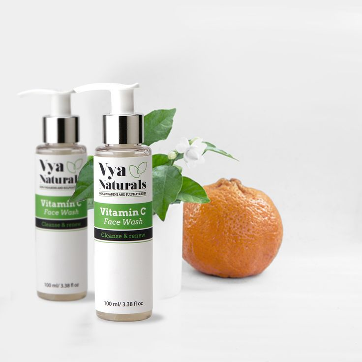 Refine and restore your skin's radiance with Vya Naturals Vitamin C Face Wash  Shop Now: http://bit.ly/2qS2io4
