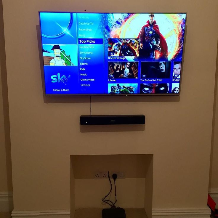 Phew just finished work Sky Q Amazon Fire Bose Sound Bar and a 50 inch 4K tv fitted to a kids play room.   What do you think?  Best regards Kevin.  wirralelectrician.com 0800 955 4321