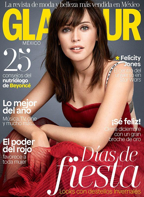 ¡Felicity Jones es nuestra estrella de portada! Corre por tu revista de diciembre y descubre todas las sorpresas que tenemos para ti.