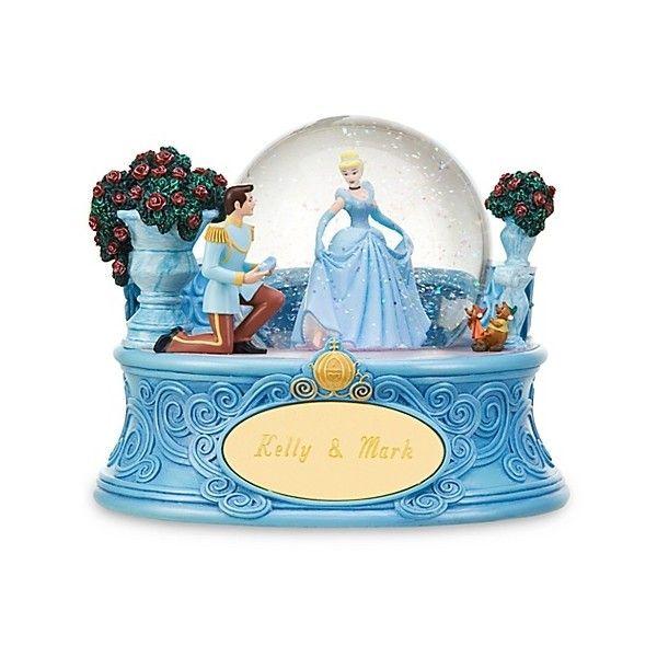 Disney Cinderella (The Shoe Fits) Snowglobe