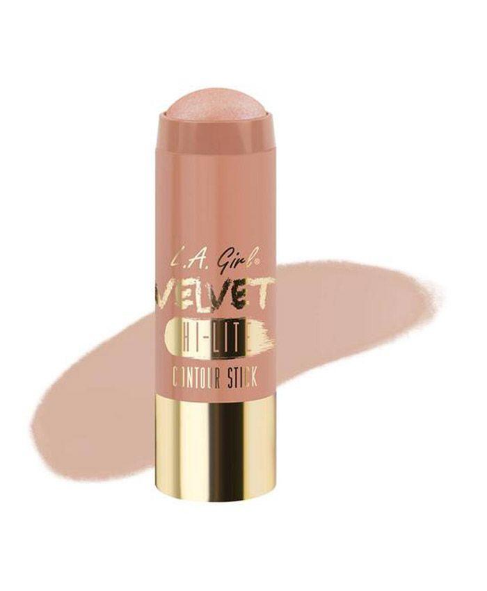 L.A. Girl Velvet Contour Stick Luminous - хайлайтер служит прекрасным средством для контурирования лица. Эта роскошная формула сочетает в себе масло семен жожоба, какао, винограда и масло ши. Цена и отзывы.  Косметика для лица в интернет-магазине «BODYCAR
