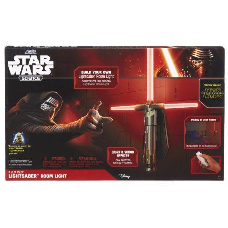 Uncle Milton Star Wars Science - Kylo Ren Lightsaber Room Light