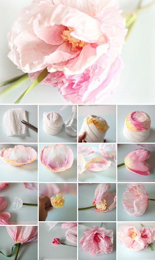 DIY Paper flower power