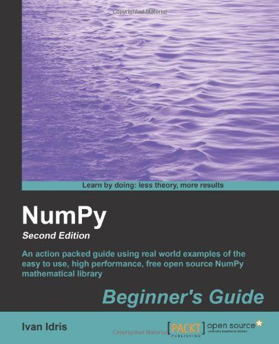 I'm selling NumPy Beginner's Guide - Second Edition by Ivan Idris - $10.00 #onselz