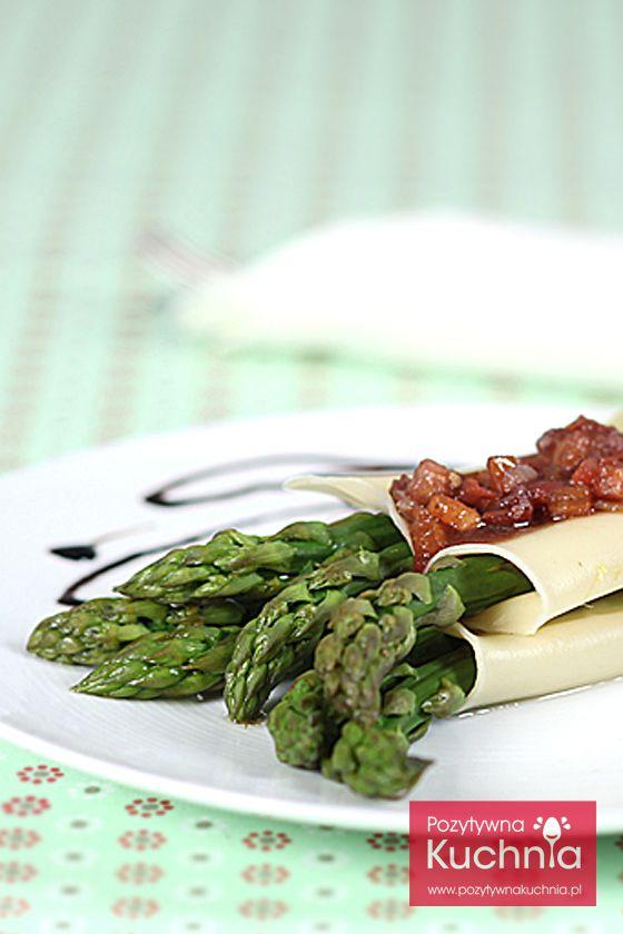 #przepis na #makaron canelloni z zielonymi szparagami   http://pozytywnakuchnia.pl/canelloni-ze-szparagami-w-winnym-sosie/  #szparagi #obiad #kuchnia