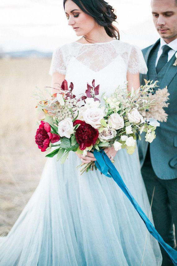 Rustic indigo wedding inspiration                                                                                                                                                                                 More
