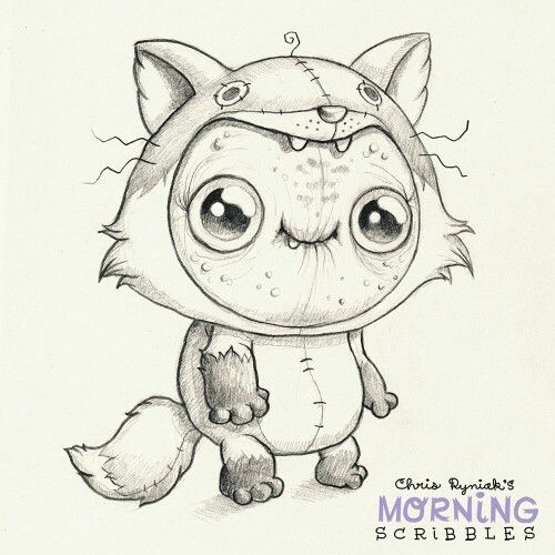 Scribble Drawing Ideas : Best chris ryniak morning scribbles images on