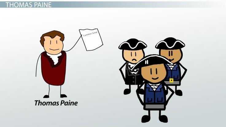 Thomas Paine: Common Sense and The Crisis - Video & Lesson Transcript | Education Portal