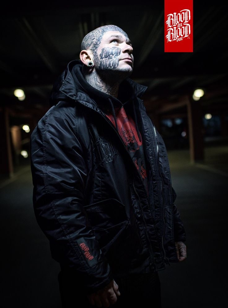 Mens Winterjacket by Blood in Blood out Clothing.