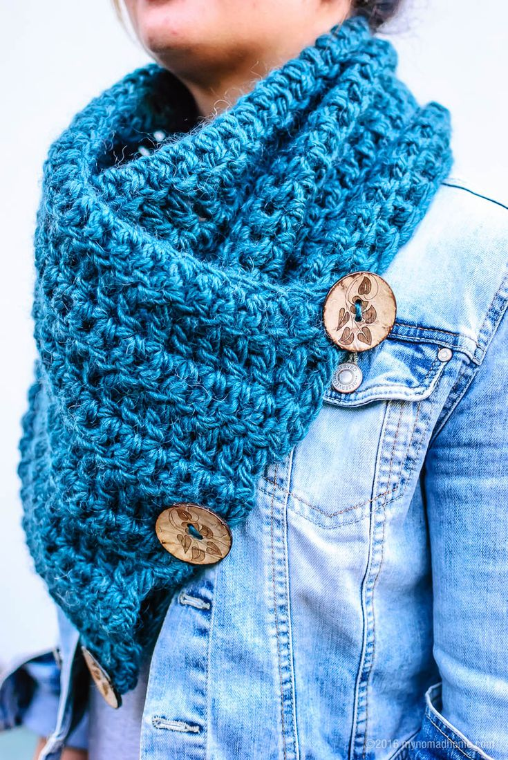 "crochet winter scarf Garn: citystoffer.dk ""rowan cocoon"""