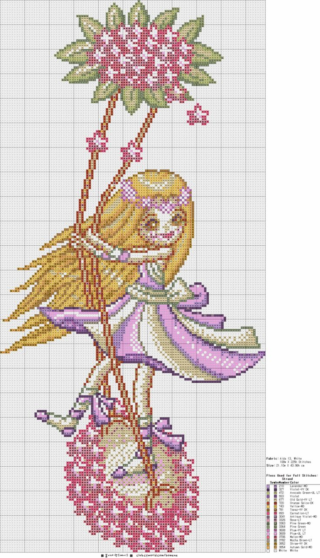 ▶ cross-stitch pattern, ♡ spring handmade Ine ♡: Naver Blog