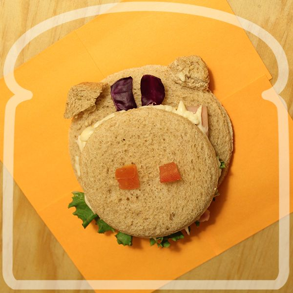 Sandwich de Puerquito.#Sandwich #Wonder #DiferenteEsMejor