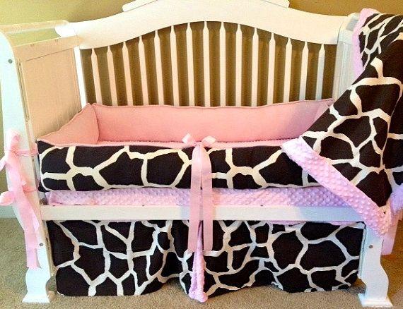 Marli  Custom Baby Bedding Crib Set 6 pc set by BabiesNBaubles, $435.00 www.babiesnbaublesboutique.com www.etsy.com/shop/babiesnbaubles