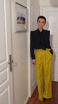 les 25 meilleures id es de la cat gorie pantalon moutarde femme sur pinterest pantalon. Black Bedroom Furniture Sets. Home Design Ideas