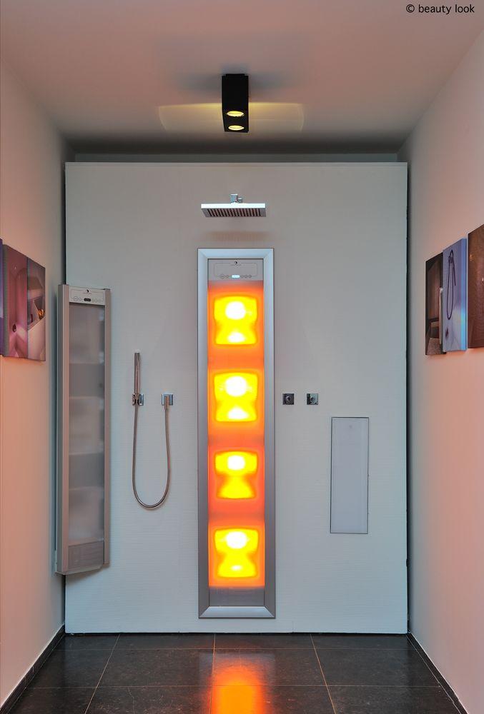 infrarood in uw douche beauty look nv kortrijk. Black Bedroom Furniture Sets. Home Design Ideas