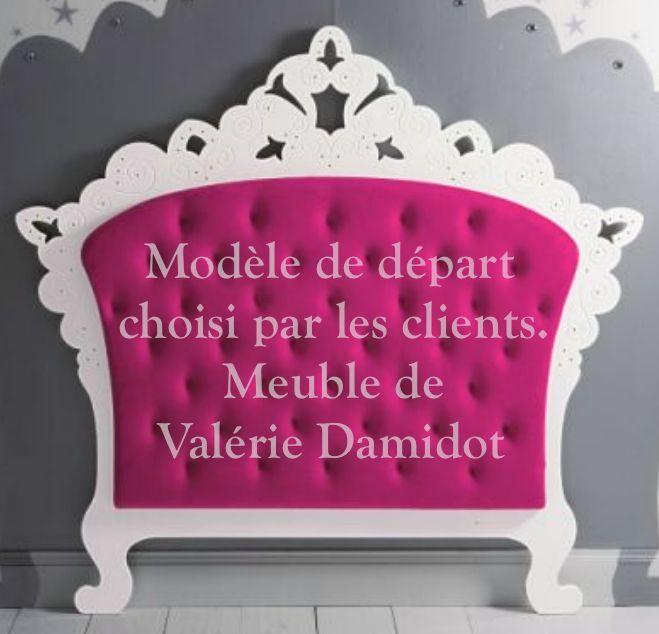 Tête-de-lit rose Marie-Eve Bouchard