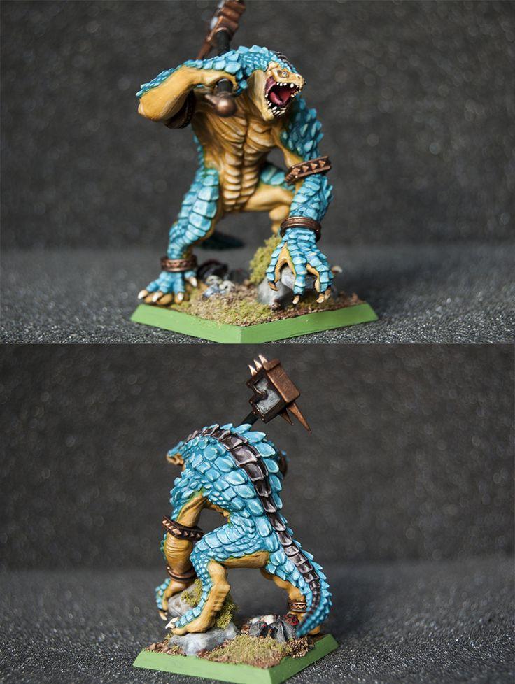 WOOGITY'S CUSTOM WFB KROXIGOR Lizardmen Warhammer by ignacio vidal