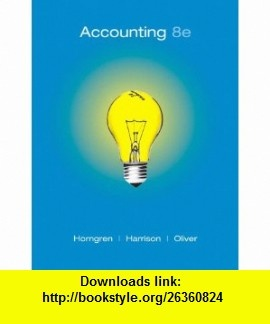 Accounting Horngren 8th Edition