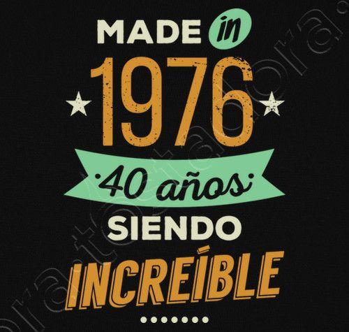 Camiseta Made in 1976