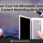 4 Super Cool Yet Affordable Tools that Make Content Marketing More Effective http://ift.tt/2pvXL8z   There are a ton of tools available to help you improve your content marketing efforts. However for those with a smaller budget many of those tools can be priced far out of reach.  The good news is that there is also a whole range of free and affordable content marketing tools. For a great list of free tools read my previous article 25 Free Content Marketing Tools to Radically Boost Your…
