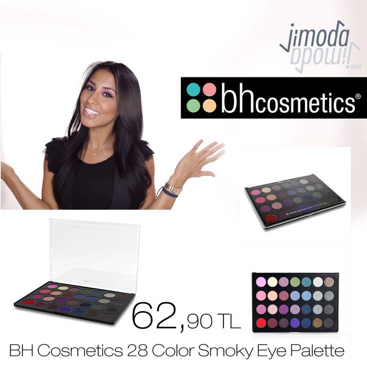 28 Color Smoky Eye Palette ile dumanlı ve buğulu göz makyajları yapabileceğiniz tüm renkleri içeren 28 renkli bir palettir. Size kalan renkleri karıştırıp mükemmel dumanlı göz makyajları yaratmaktır. Sahip olmak için hemen jimoda.com  #bhcosmetics #jimodacom #makyaj #kozmetik #makyajım #bakım #kozmetiksatışı #gününmakyajı #makeupworld #bblogger #blogger #ootd #sunset #günbatışı