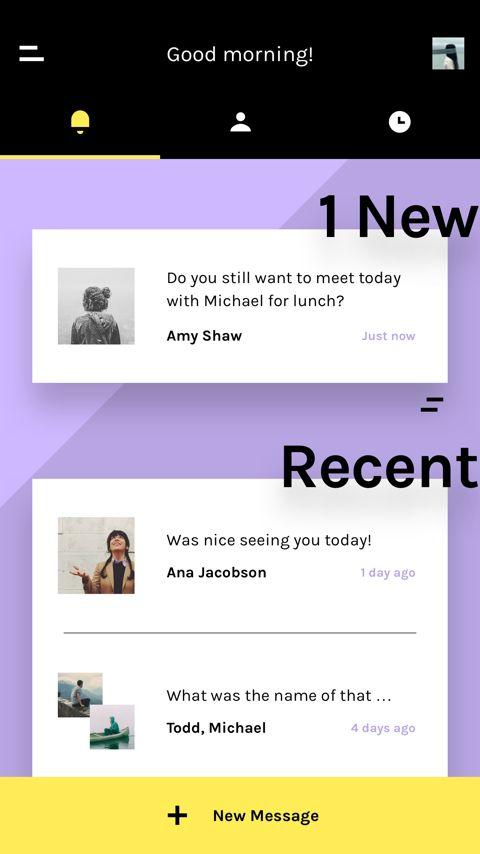 Chat UI Screen
