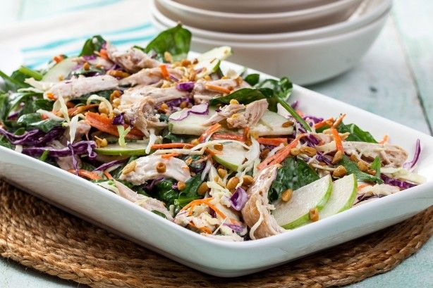 Chicken and apple coleslaw main image