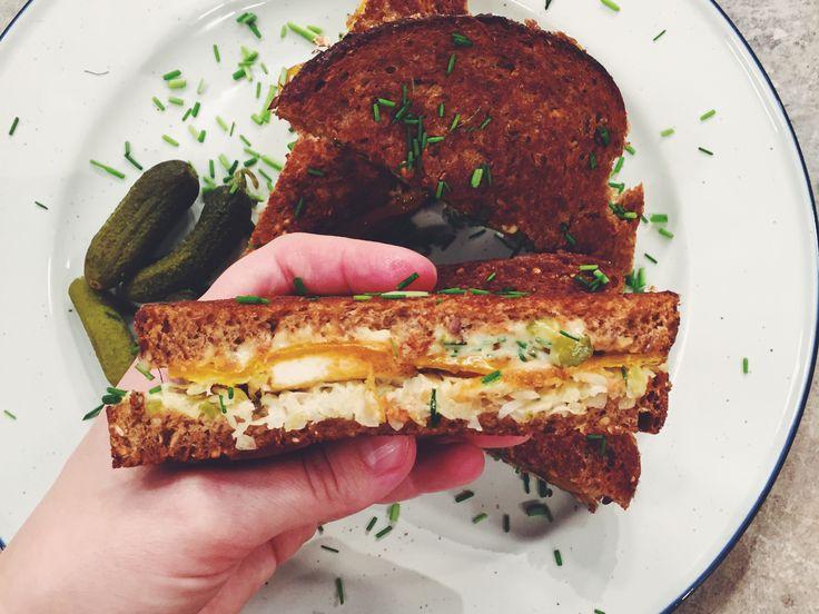 Tofu Reuben Sandwich | Recept från Köket.se