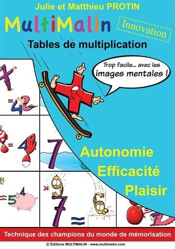 17 meilleures images propos de tables de multiplication - Apprentissage table de multiplication ...