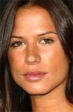 Rhona Mitra ( #RhonaMitra ) - an English actress, model and singer who came to public attention as the Lara Croft model, and is best known for her  roles as Holly Marie Begins on Party of Five, Tara Wilson on The Practice and Boston Legal, Detective Kit McGraw on Nip/Tuck - born on Monday, August 9th, 1976 in Hampstead, London, England