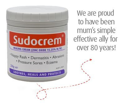 Welcome to the official worldwide Sudocrem page. You can find out more about our product and it's treatment use for diaper/nappy rash, eczema, acne and more