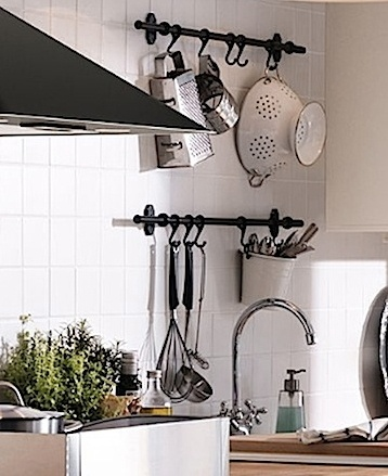 Best Pot And Pan Holders Images On Pinterest Kitchen Ideas - Pot and pan hanger for kitchen