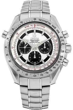 Pre-Owned Omega Watch - Speedmaster Broad Arrow Rattrapante