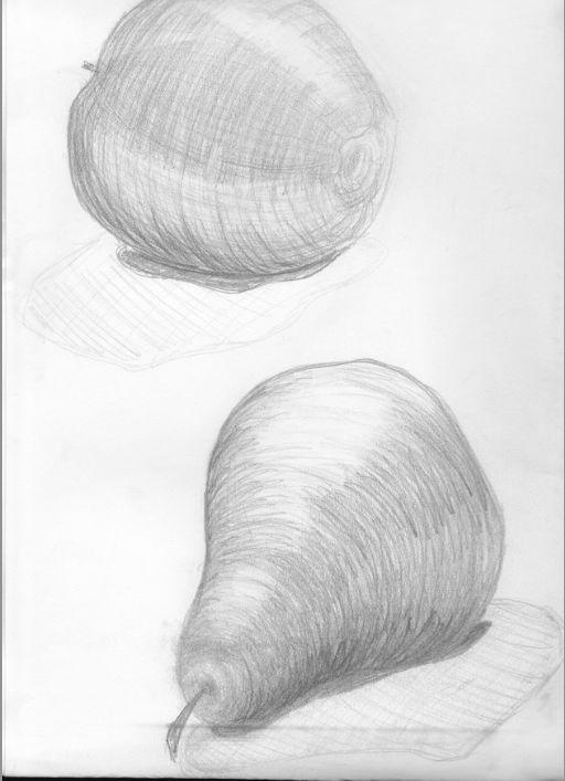 Contour Line Drawing Fruit : Fruit cross contour by sing enrique