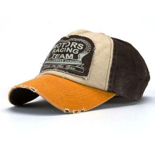 2016 New Amazing New Unisex Baseball Cap Cotton Motorcycle Cap Men Women Casual Summer Hat 6Colors