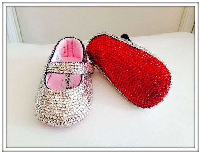 Christian Louboutin\u0026quot; Inspired Crib Shoes | Baby Bling | Pinterest ...