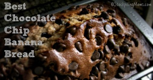 It is National Banana Bread Day - you may like this Best Chocolate Chip Banana Bread Recipe to celebrate!