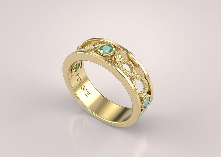 anel-de-formatura-medicina-feminino-serpens-esmeralda-amarelo