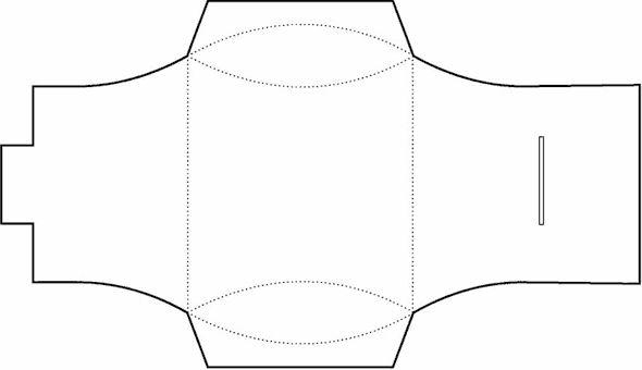 the 25  best pillow box template ideas on pinterest