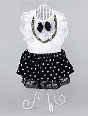 Dog+Dress+Dog+Clothes+Party+Casual/Daily+Polka+Dots+–+USD+$+9.59